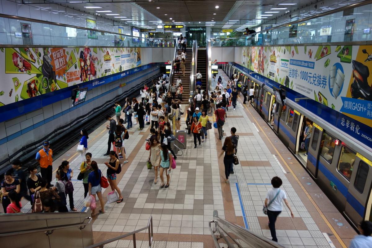 忠孝敦化駅